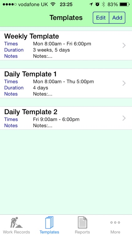 Work Diary Pro - Cloud screenshot-2
