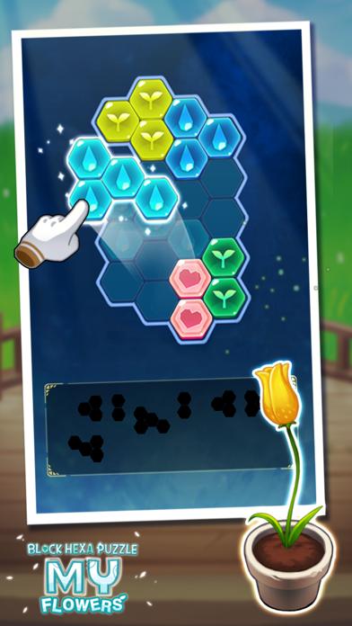 Block Hexa Puzzle : My Flower screenshot 7