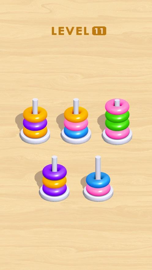 Hoop It 3D App 截图