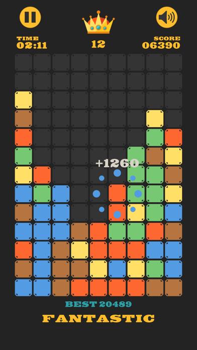 Clear The Blocks, Merge Colors screenshot 1