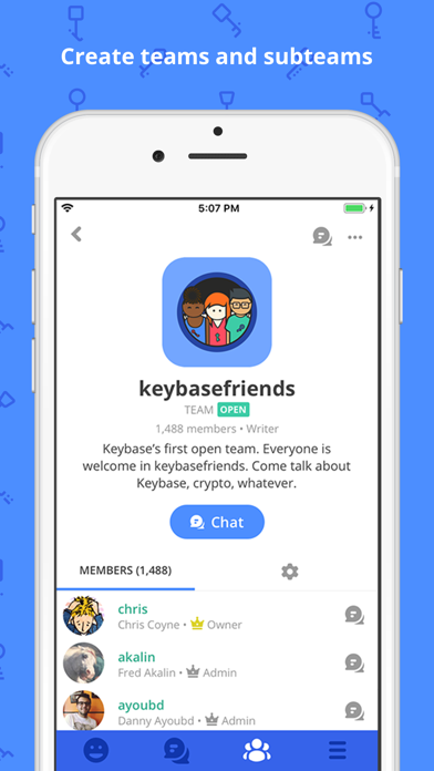 Keybase - Crypto for Everyone - 窓用