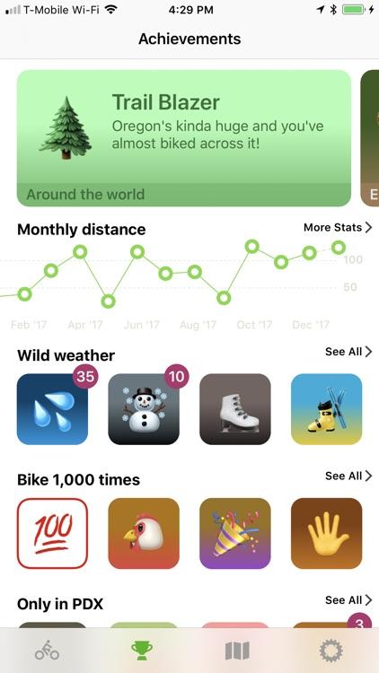 Ride App—automatic ride mapper