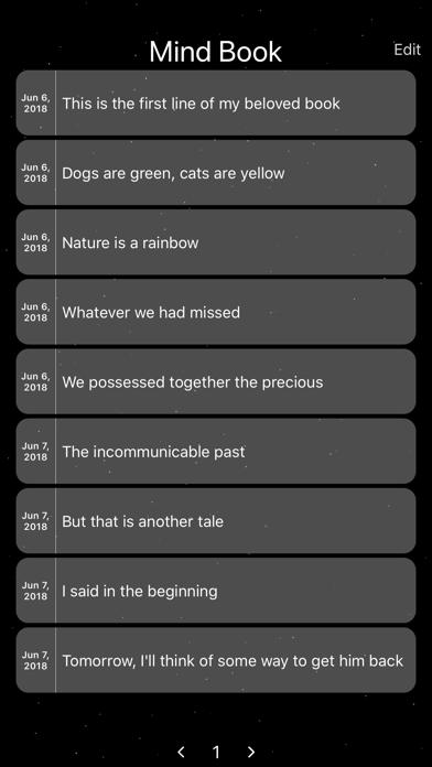 Mind Book Screenshots