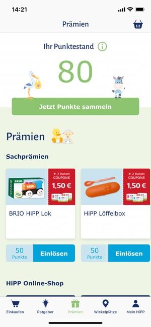 25bfa4d76d HiPP Windel App im App Store