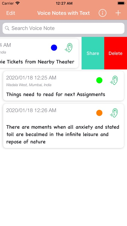 Voice Notes With Text screenshot-5