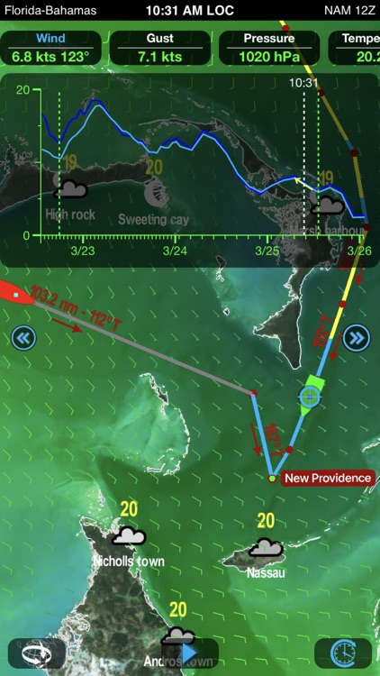 Weather4D Routing screenshot-7