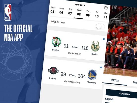 NBA: Live Games & Scoresのおすすめ画像1