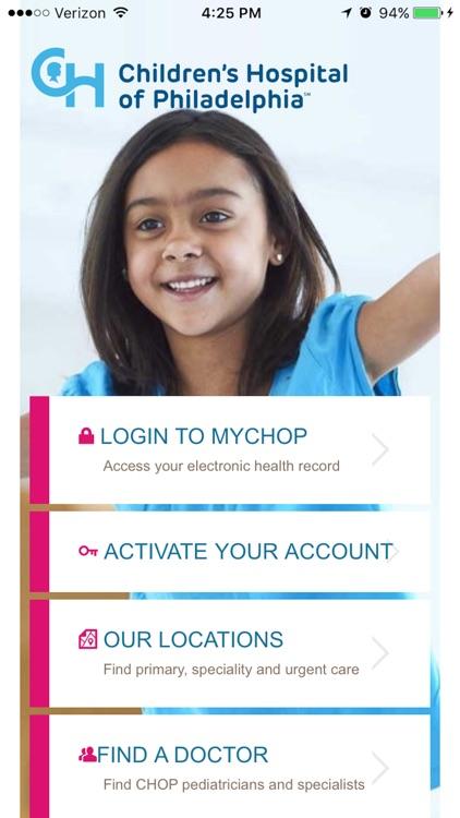 MyCHOP by The Children's Hospital of Philadelphia