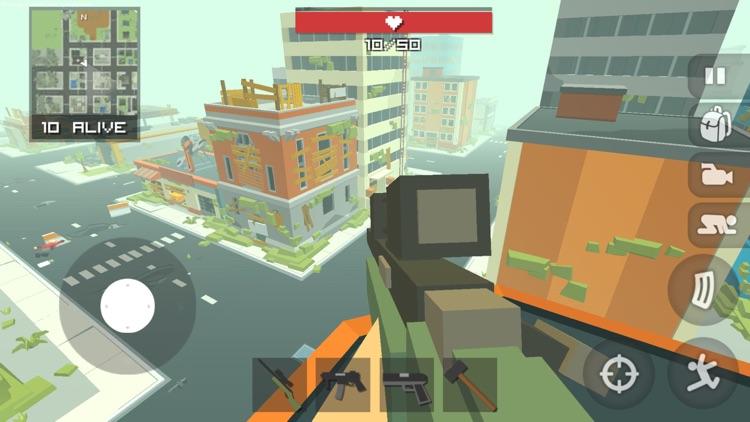 Pixel Battle Royal Shooter Pro screenshot-0