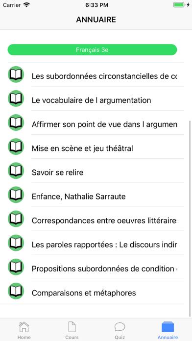 Français 3ème screenshot 6