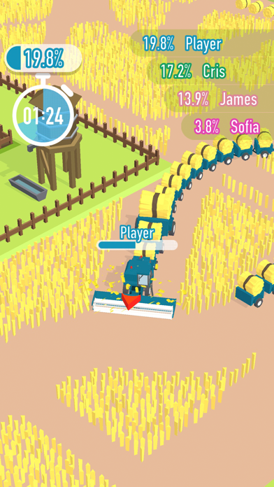 Harvest.io screenshot 1