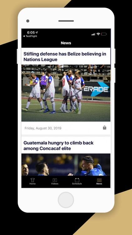 CONCACAF Official App screenshot-3