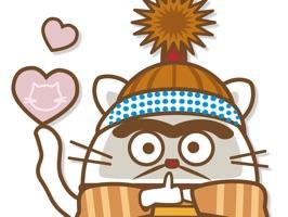 Daruma Cat Exclamation Stecker
