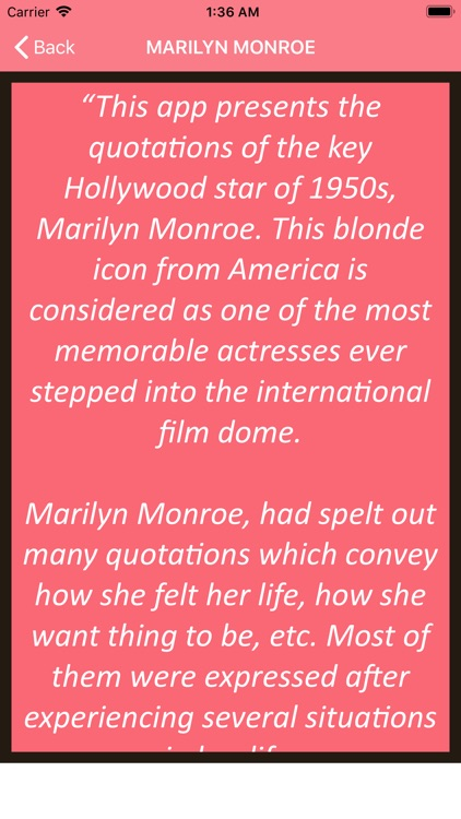 Marilyn Monroe Wisdom screenshot-4