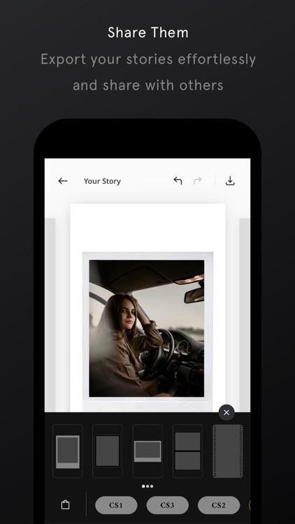 Unfold — Create Stories screenshot-4