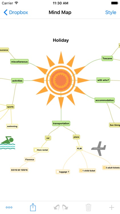 SimpleMind+ Mind Mapping screenshot-3