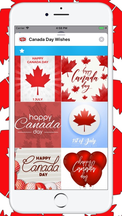 Canada Day Wishes screenshot-1