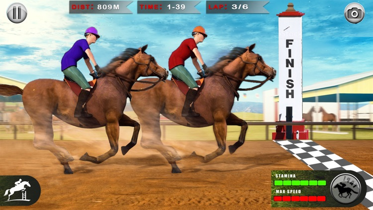 Horse Racing: 3D Riding Games
