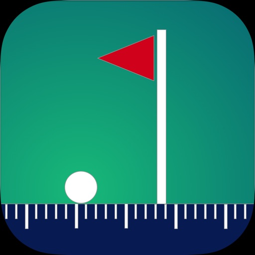 Golfer's Distance icon