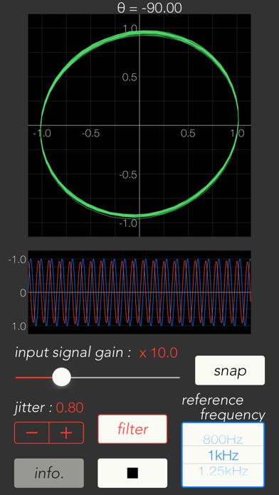 Sound Lissajous Meterのおすすめ画像2