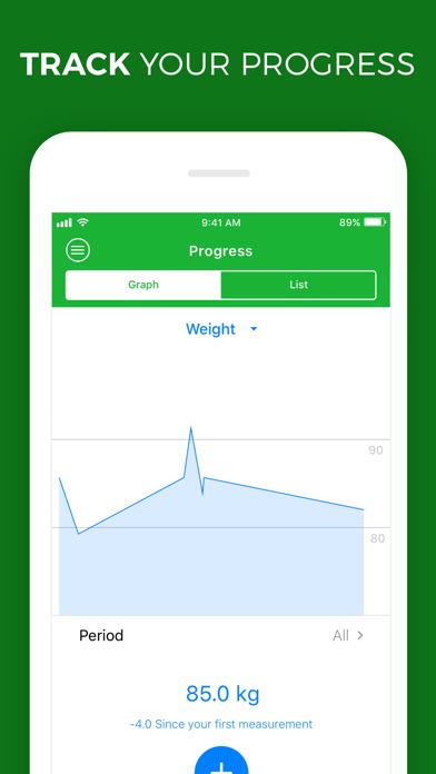 Calorie, Carb & Fat Counter screenshot four