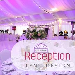 Reception Tent Design Customer