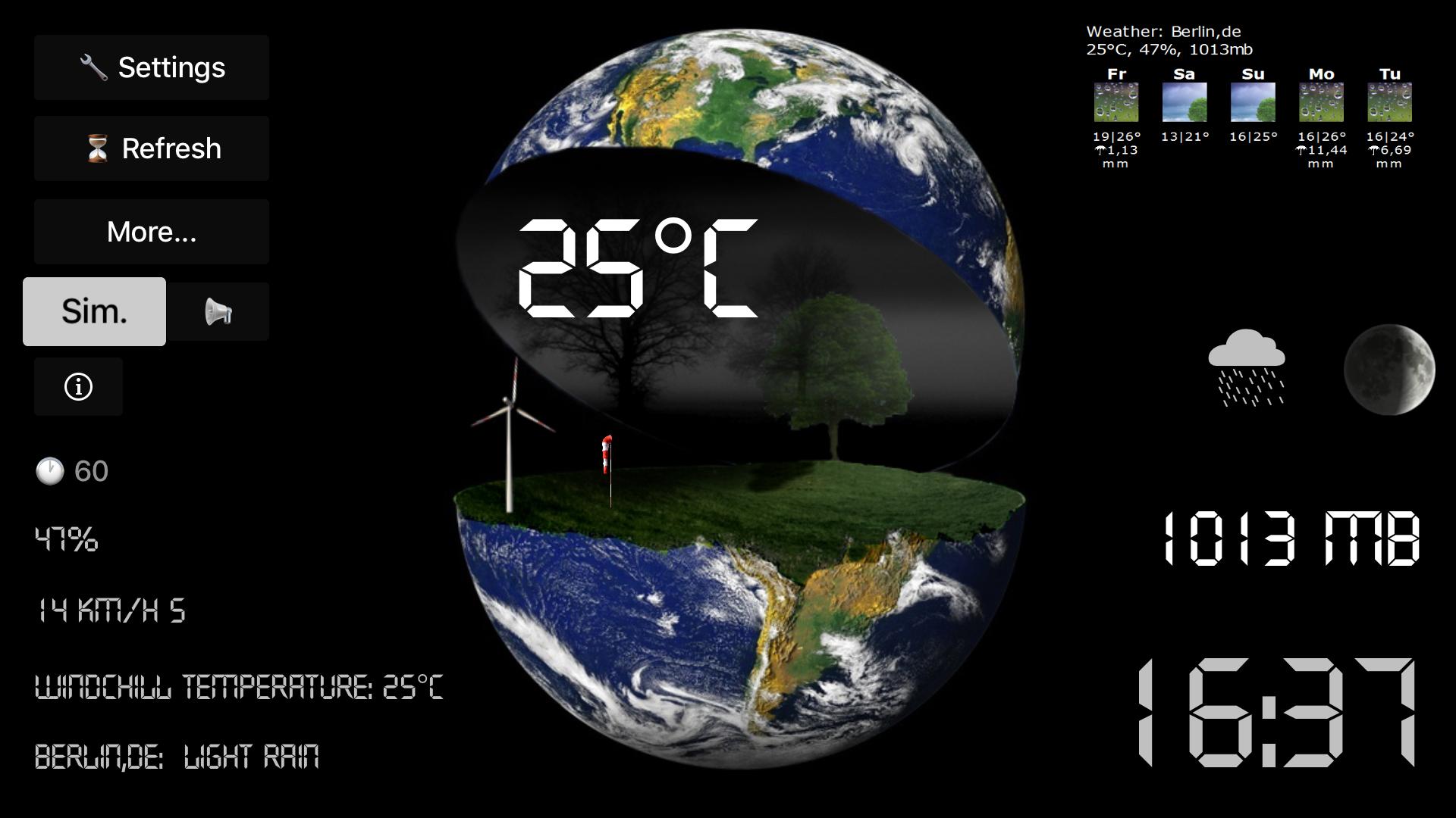 TV Weather Globe screenshot 4