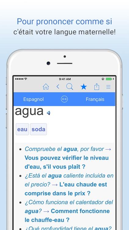 Dictionnaire Français+Espagnol screenshot-4
