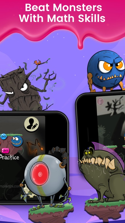 Monster Math : Kids Fun Games screenshot-4