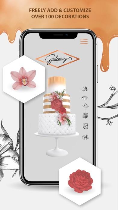 Cake Decorating App Screenshot