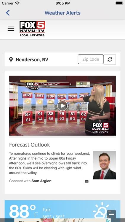 Las Vegas Weather Radar-FOX5 screenshot-3