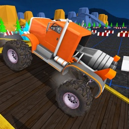 Monster Truck Driving Sim 3D