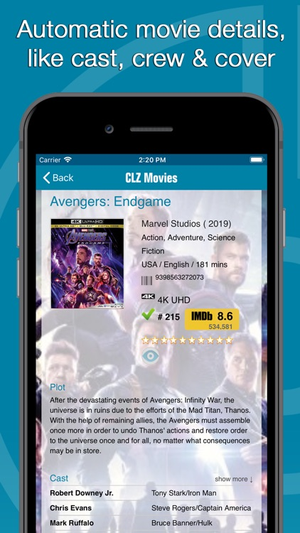 CLZ Movies - Movie Database