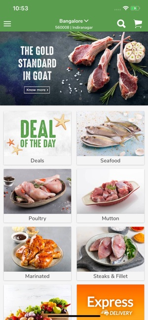 Fresh To Home Fresh Fish, Meat on the App Store