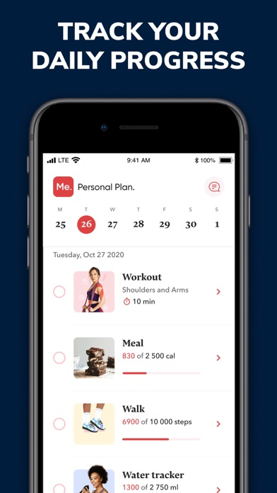 BetterMe: Home Workout & Diet Screenshot