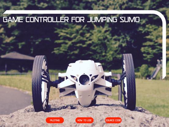 Game Controller Jumping Sumo screenshot 11