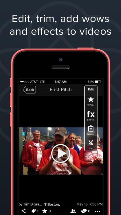 Burst - Mobile Video Platform screenshot-3