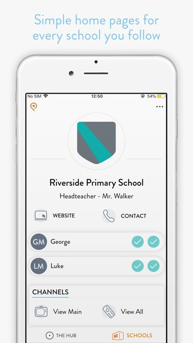 Parent Hub screenshot two