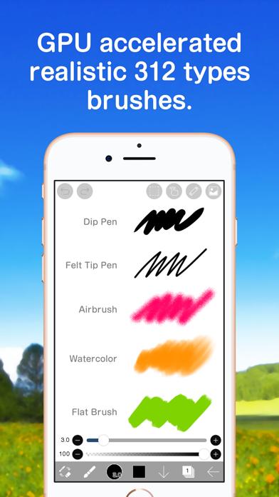 Ibis Paint review screenshots
