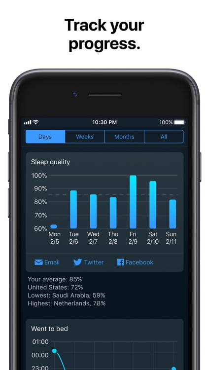 Sleep Cycle: smart alarm clock screenshot-4
