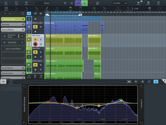 Visual EQ Console AUv3 Plugin screenshot 7
