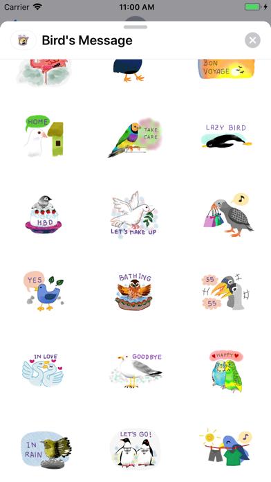 Bird's Message screenshot 3