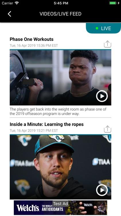 Official Jacksonville Jaguars screenshot-4