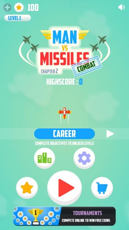 Man Vs. Missiles: Combat screenshot-0