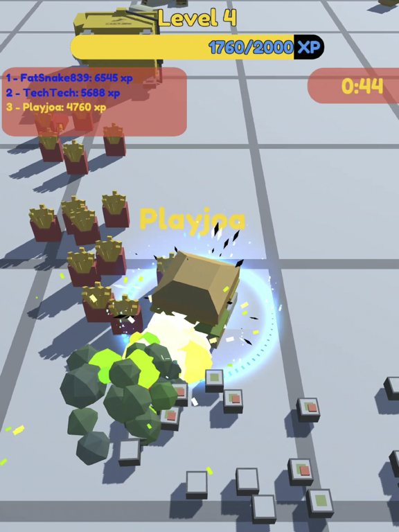 Food.io - Food Battle screenshot 8