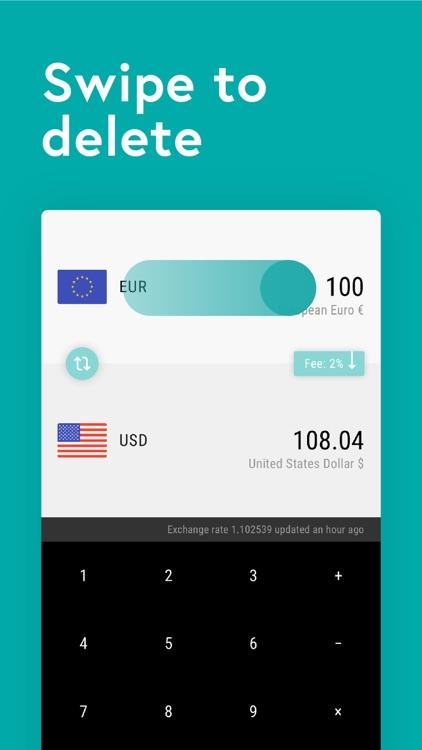 Valuta EX - Currency Converter screenshot-3