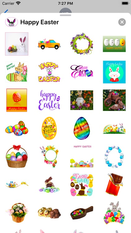 Happy Easter Emoji Stickers screenshot-5