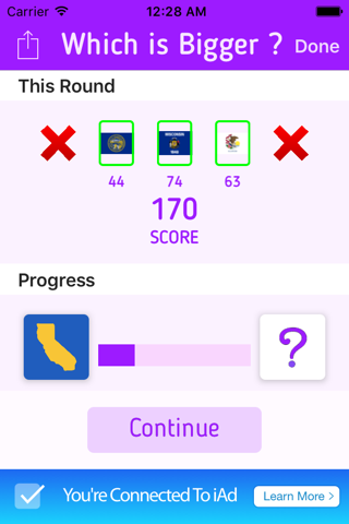 Which is Bigger? Trivia Game - náhled