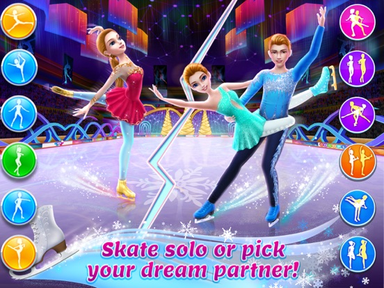 iPad Image of Ice Skating Ballerina