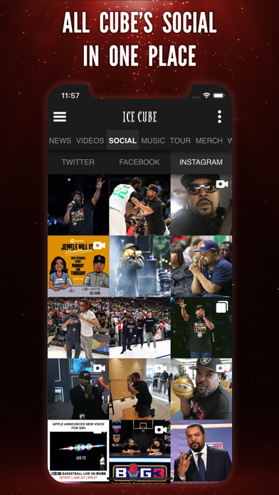Ice Cube Official Fan Appのおすすめ画像2